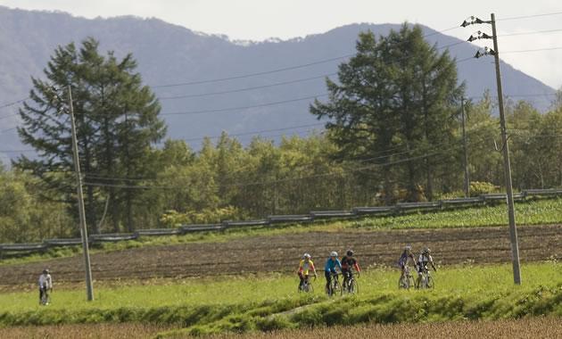 サイクリング体験 in FURANO